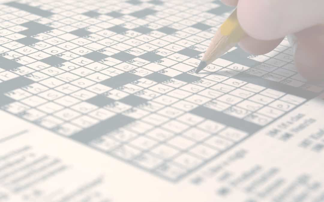 Improving your semantic memory can help with crossword solving