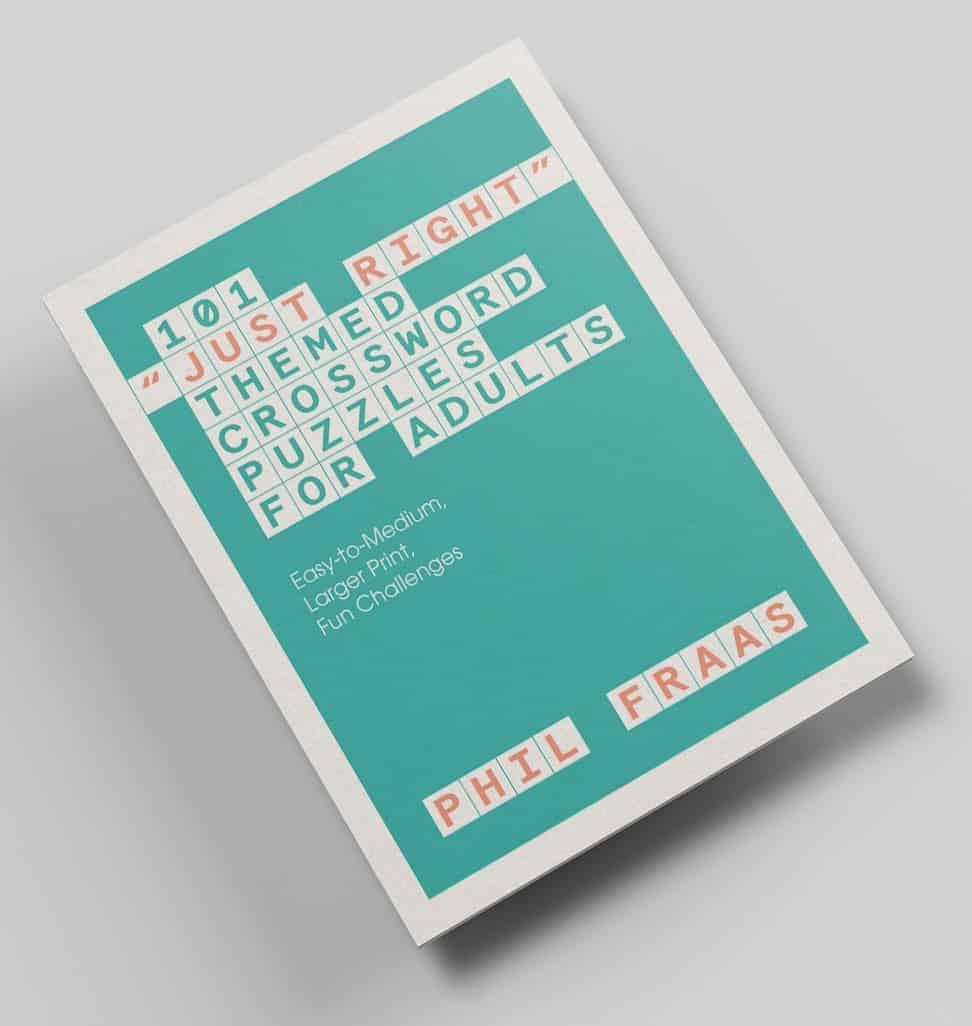 Phil's crossword book cover