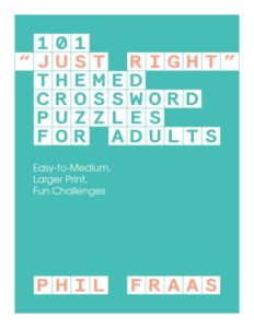 Phil's crossword book cover